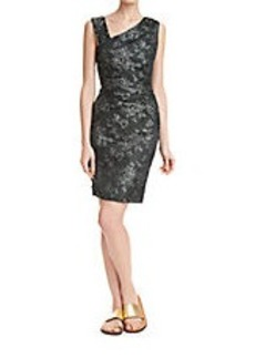 TRACY REESE Floral Printed Cocktail Dress