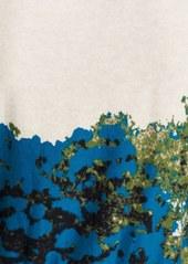 Tracy Reese Flower Print Cardigan
