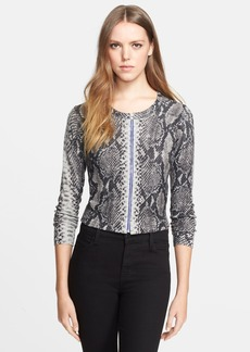 Tracy Reese Front Zip Cardigan