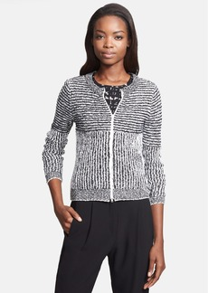 Tracy Reese Front Zip Sweater Cardigan