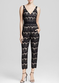 Tracy Reese Jumpsuit - Deep V-Neck