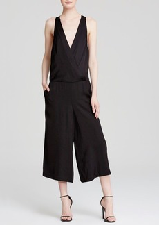 Tracy Reese Jumpsuit - Sleeveless V-Neck Open Back Culotte