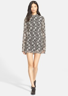 Tracy Reese Lace Overlay Minidress