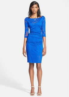 Tracy Reese Lace Overlay Sheath Dress