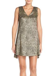 Tracy Reese Lamé A-Line Dress