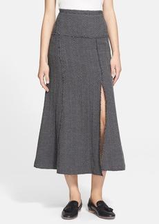 Tracy Reese Mélange Midi Skirt