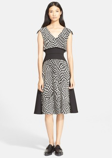 Tracy Reese 'Malak' Houndstooth Jacquard Dress