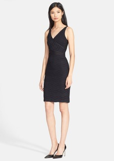 Tracy Reese Mesh Inset Lace Dress