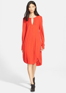 Tracy Reese Pintuck Pleat Tunic Dress