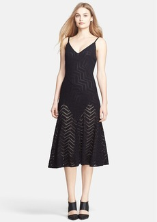 Tracy Reese Pointelle Knit Slipdress