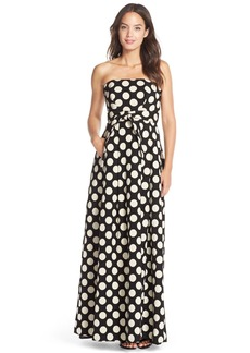 Tracy Reese Polka Dot Cotton Blend Ballgown