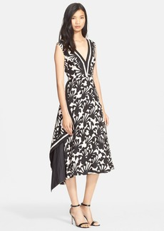 Tracy Reese Print Floral Jacquard Dress
