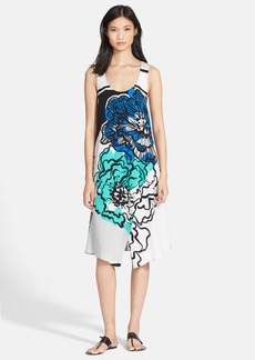 Tracy Reese Print Wrap Tank Dress