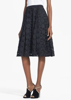 Tracy Reese Raffia Circle Lace Skirt
