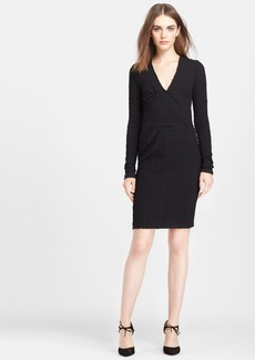 Tracy Reese Release Pleat Sheath Dress