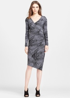 Tracy Reese Ruched Jersey Dress