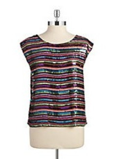 TRACY REESE Sequined Top