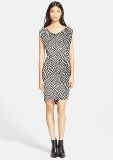 Tracy Reese 'Sia' Houndstooth Jacquard Dress