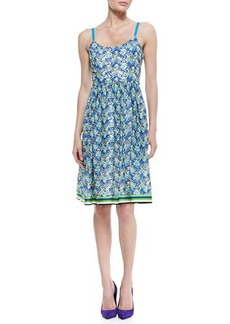 Tracy Reese Sleeveless, Multicolor Pique Dress