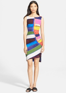Tracy Reese Sleeveless Stretch Crepe Shift Dress (Nordstrom Exclusive)