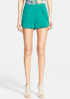 Tracy Reese Stretch Double Crepe Shorts