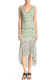 Tracy Reese Stretch Lace High/Low Dress