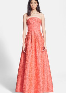Tracy Reese Tie Back Cloqué Gown