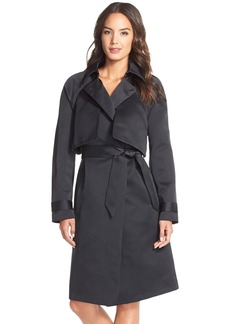 Tracy Reese Tiered Trench Coat