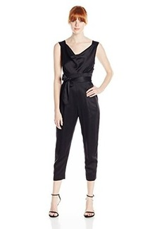 Tracy Reese Women's Crepe Tie Back Jumpsuit
