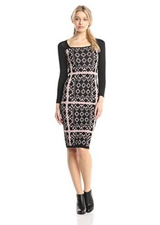 Tracy Reese Women's Lace Placement T Dress