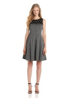 Tracy Reese Women's Lace Yoke Frock Dress