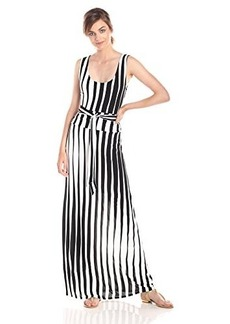 Tracy Reese Women's Printed Scoop-Neck Maxi Dress