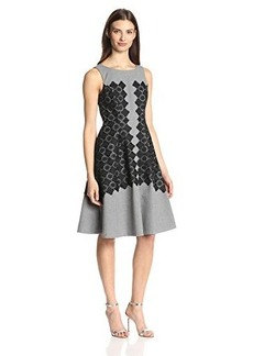 Tracy Reese Women's Sleeveless Dress with Applique