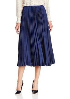Tracy Reese Women's Sunburst Pleated Midi Skirt