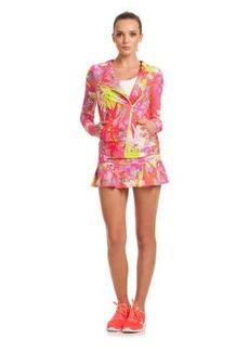 Orchid Print Jacket