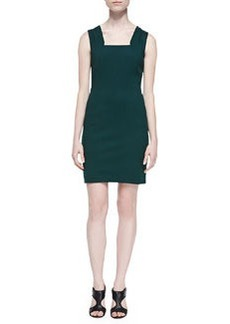 Trina Turk Abigayle Sleeveless Square-Neck Dress
