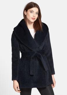 Trina Turk 'Amelia' Double Breasted Alpaca & Wool Blend Coat