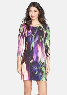 Trina Turk 'Arcy' Print Ponte Shift Dress