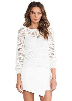 Trina Turk Auburn Sweater in White
