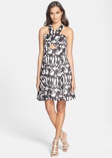 Trina Turk 'Bellicity' Cotton & Silk A-Line Dress