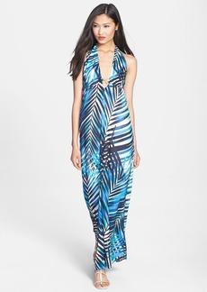 Trina Turk 'Biscayne' Print Halter Maxi Dress