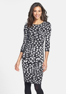 Trina Turk Body-Con Sweater Dress