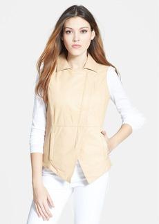 Trina Turk Bonded Leather Vest