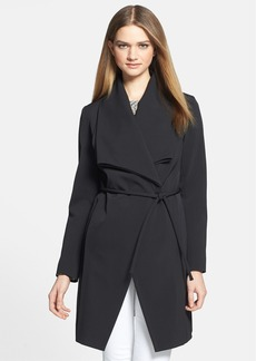Trina Turk 'Caroline' Drape Neck Walking Coat