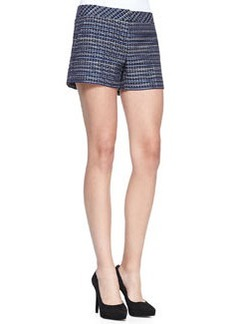 Trina Turk Corbin Fitted Tweed Shorts