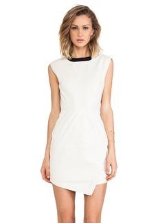 Trina Turk Dalia Leather Dress
