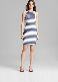 Trina Turk Dress - Camille Sleeveless Maritime Stripe Sheath