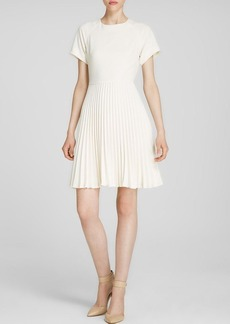 Trina Turk Dress - Estrella Short Sleeve Pleated Skirt