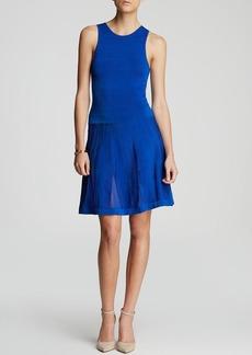 Trina Turk Dress - Fairfield Sleeveless Sweater Knit Fit and Flare