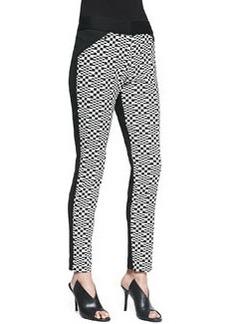 Trina Turk Eme Printed Ponte Pants